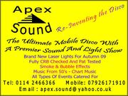Apex sound mobile dj and sound engineer