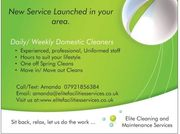 New Domestic Cleaning Service in Rotherham Sheffield Barnsley Doncaster