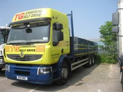 Hire 7.5 tonne truck rental in Chesterfield from T G Commercials