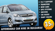 car hiring service in bulgaria
