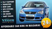 Affordable Car Hire in Bulgaria